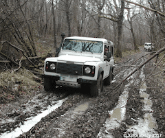 Land Rover Defender vs Mud