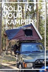 Cold in your iKamper roof-top tent? Here's our solution!