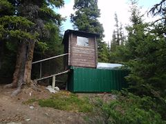 Backcountry outhouse, ever changed a barrel