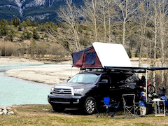 Toyota Sequoia Overland Camping Set-up