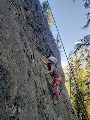 Sport Climbing in Banff National Park