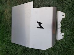 Terrafirma Fuel Guard for a Land Rover Discovery