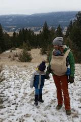 Hiking with Onya Nexstep carrier