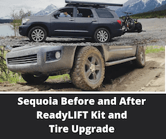 Toyota Sequoia 2nd Gen Lift, Wheel and Tire Upgrade