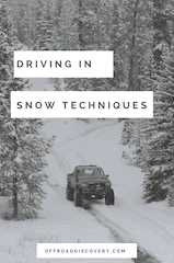 4x4 Instructor Tips for Driving in Snow