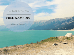 Camp for free in Canada
