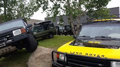 Land Rover Show n' Shine