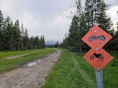 Off-road Trail Signs
