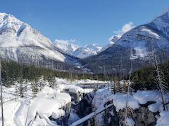 Marble Canyon Hike in Kootaney National Park, British Columbia Canada