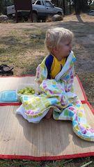 Teaching Kids to Swim Outdoors