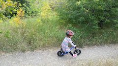 Balance bikes teach kids balance so there is no need for training wheels. They are also tons of fun.