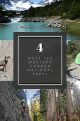 4 Must see Canadian National Parks in Western Canada