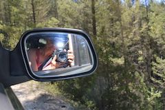 Selfie with Canon 70D Digital SLR camera