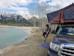 Toyota Sequoia Camping Setup
