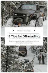 8 Tips for off-roading for the first time