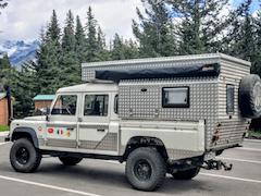 Overland Custom Pop Up Land Rover Defender Camper