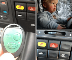 Land Rover Discovery Suspension Controls