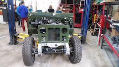 Restoration Land Rover dream project