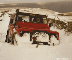 Land Rover Discovery Winter Time