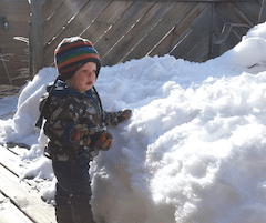 Kids and Snow