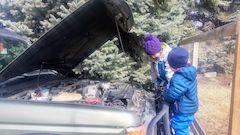 Land Rover Mechanics in Training