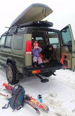 Land Rover Family Ski Trip