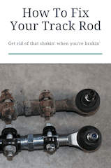 Step by step instructions on how to fix your track rod