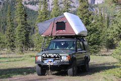 iKamper Roof Top Tent, Backcountry Adventures