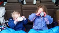 Outdoors with kids during the winter often ends with a delicious hot chocolate to warm up and refuel
