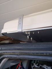 ARB Awning attached to iKamper cross bars