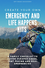 Emergency and Non-Emergency Kit Packing List for the Whole Family