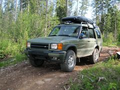 Land Rover Discovery 2 no modifications