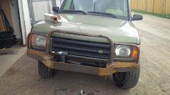 Custom Land Rover Bumper Work In Progress