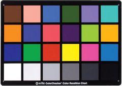 ColorChecker Card