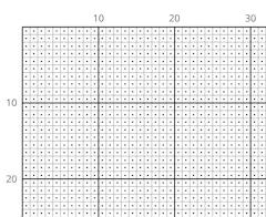 cross stitch grid