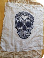 drying washed cross stitch