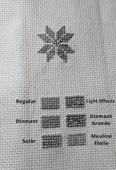 comparison of metallic floss thread dmc