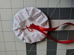 hanger stitched ornament