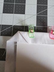 mitred corner stitching