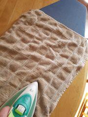 Ironing cross stitch
