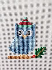 stitched ornament