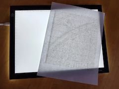 diamond painting lightpad