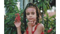 Example Mockup - Girl in Red Dress