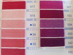 new 35 colors