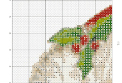 color cross-stitch pattern