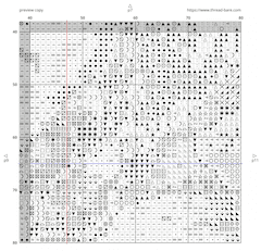 Thread-Bare Pattern Detail