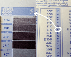 color vs column listing