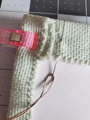 lacing needlework