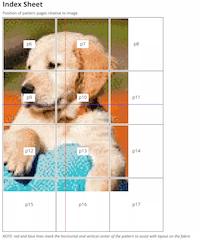 Thread-Bare Pattern Index Sheet