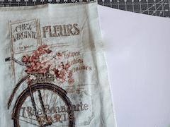 framing cross stitch on budget